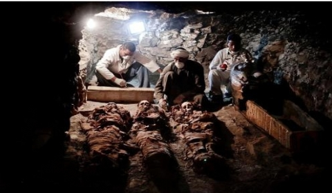 埃及卢克索发现3500年前古墓 墓主人生活在埃及第18王朝